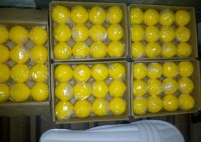 yellow Dimple balls