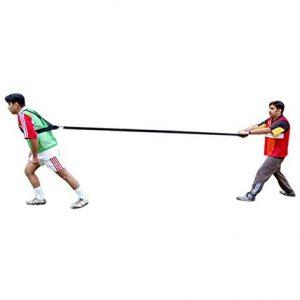 SAHNI SPORTS Polypropylene Shoulder Resistance Harness Fitness Band, Black