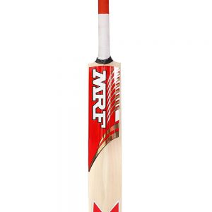 MRF Typhoon Kashmir Willow Cricket Bat, Short Handle